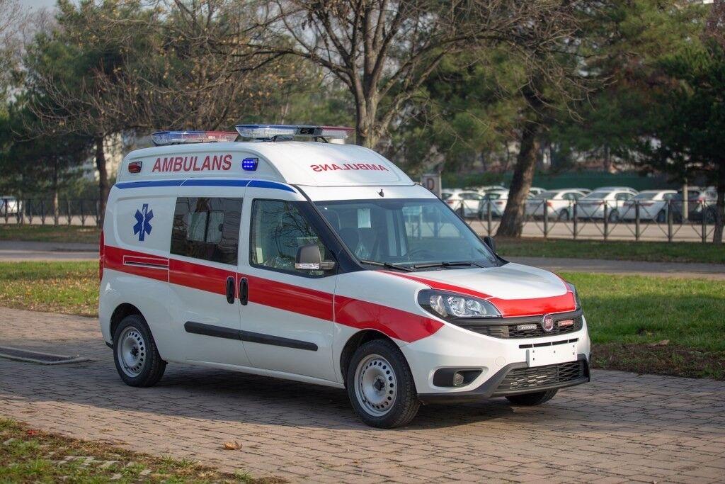 neuer FIAT DOBLO MAXİ XL AMBULANCE  Rettungswagen