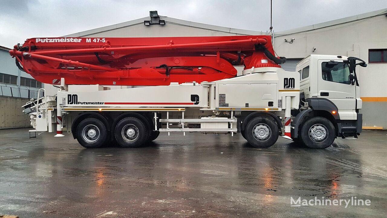MERCEDES-BENZ Axor 4140 8x4 - Putzmeister 47 Meter  Betonpumpe