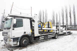 DAF CF 75 360 , E5 , 4x2 ,MEGA , LOHR , retarder , sleep cab  Autotransporter + Autotransportanhänger