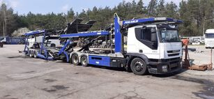 IVECO Autotransporter + Autotransportanhänger