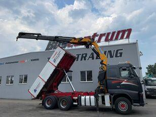 VOLVO FH 520 6x4 Crane EFFER 305 / Kipper Containerchassis LKW