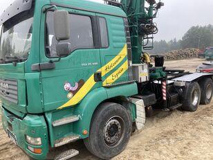 MAN Tga 26.480  6x4 Loglift 215Z Holztransporter LKW