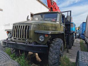 URAL HYAB Holztransporter LKW