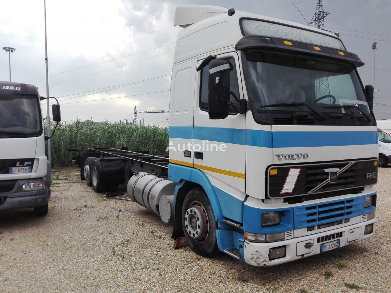 VOLVO FH 12 380 Isotherm LKW