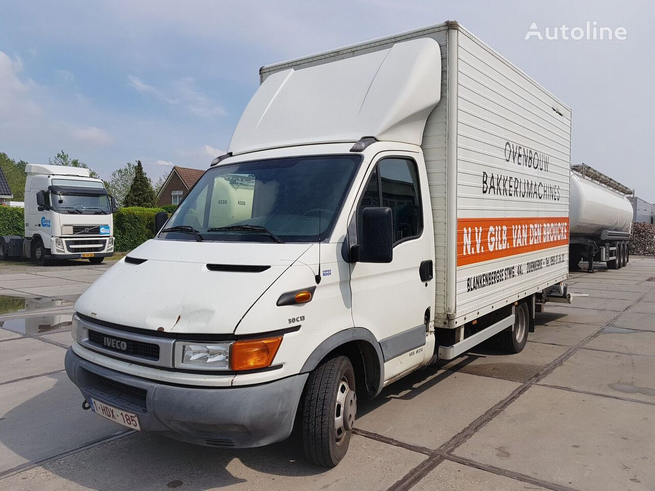 IVECO Daily 50C13 + Loadlift / Dubble Tires Koffer-LKW