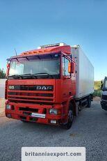 DAF 95 360 ATI left hand drive ZF manual pump 19 ton  Kühlkoffer LKW