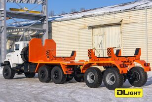 neuer KRAZ 6322-05 Rohrtransporter