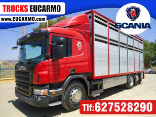 SCANIA P 380 Viehtransporter LKW