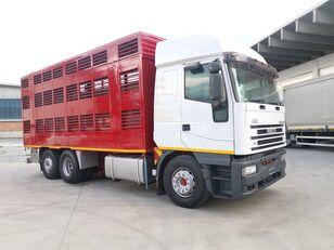 IVECO 240E48 CURSOR ANIMALI VIVI  Viehtransporter LKW