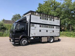 MERCEDES-BENZ Axor Pezzaioli 1/2 stock Veewagen Hefdak Viehtransporter LKW